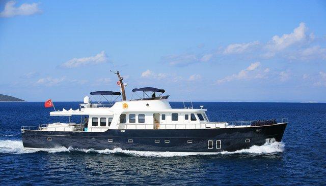 Dali Charter Yacht