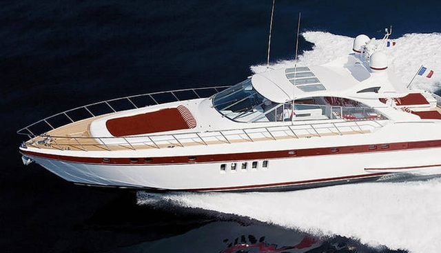 M Sixty Five Charter Yacht