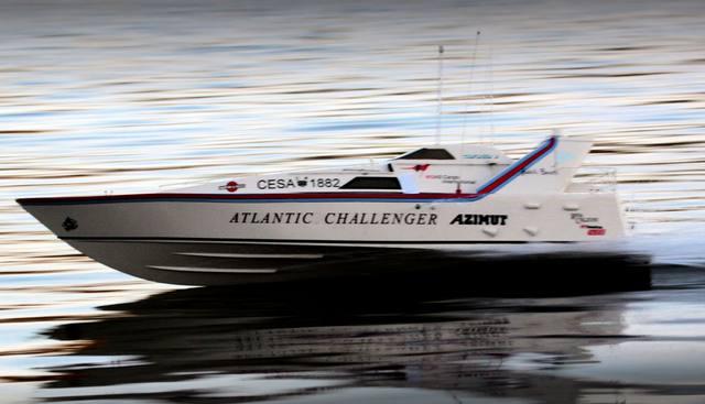 Azimut Atlantic Challenger Charter Yacht