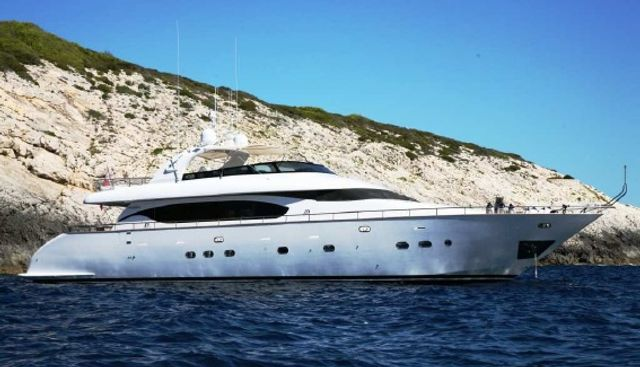 Inclination 1 Charter Yacht