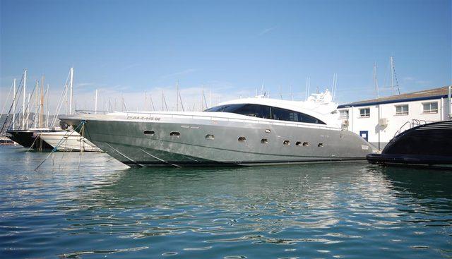 Silver Mama Charter Yacht