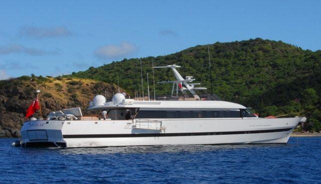 Shergar Charter Yacht