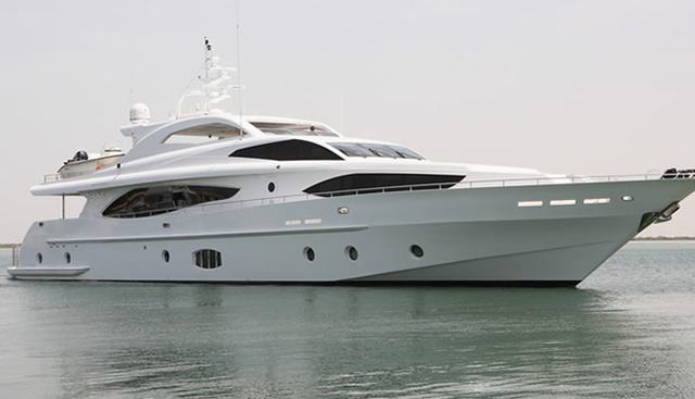 The White Charter Yacht