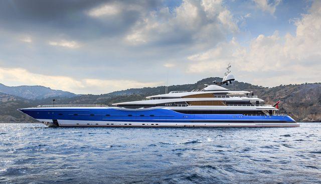 Madame Gu Charter Yacht