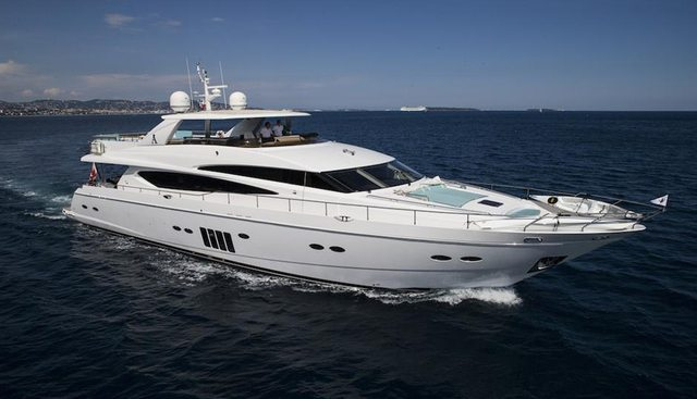Cristobal Charter Yacht