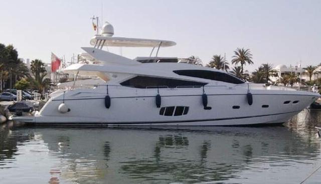 Noah White Charter Yacht