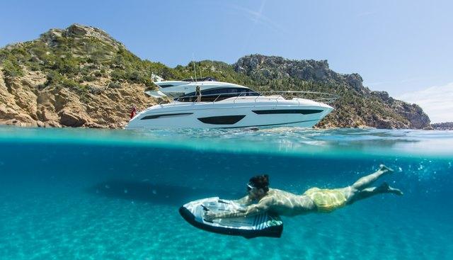 Alexia Charter Yacht