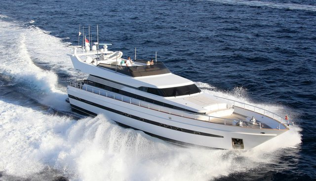 Roby Charter Yacht