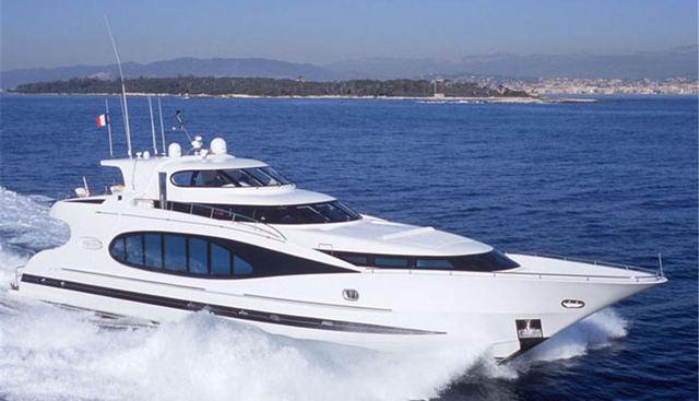 Arumaaz Charter Yacht