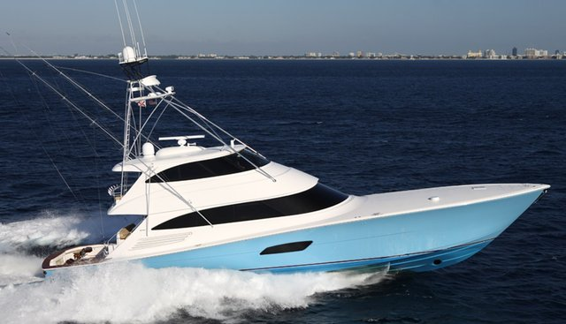 Reel High's Charter Yacht