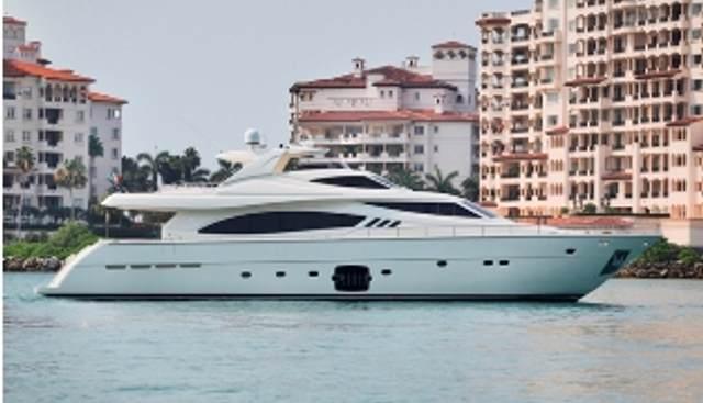 Ferretti 881 2012 Charter Yacht