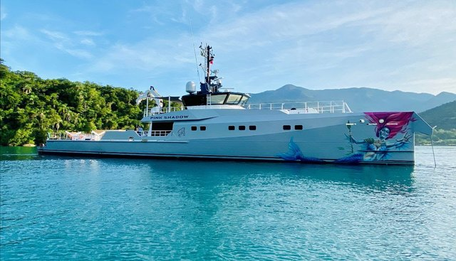 Pink Shadow Charter Yacht