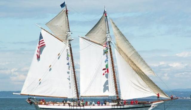 Harvey Gamage Charter Yacht