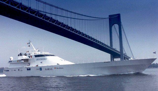 Destriero Charter Yacht