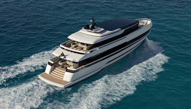 ISA Extra 130 Alloy Charter Yacht
