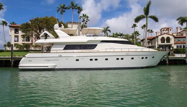 Sanlorenzo 82 Charter Yacht