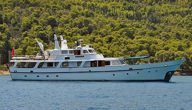 Mileanna K Charter Yacht