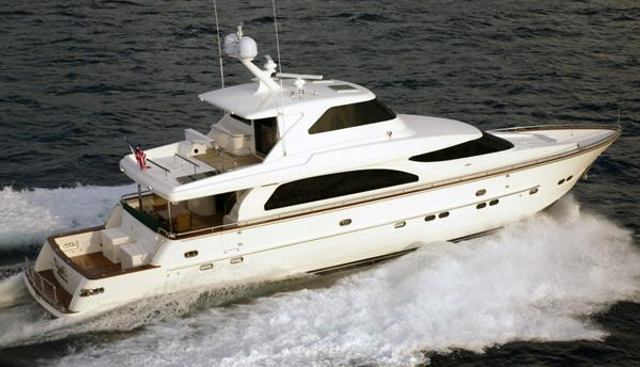 Miss Dunia Charter Yacht