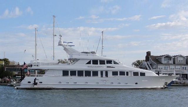 Indiscretion Charter Yacht