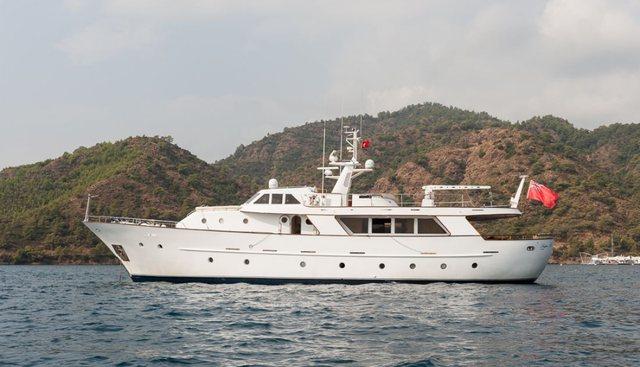 Ladyar B Charter Yacht