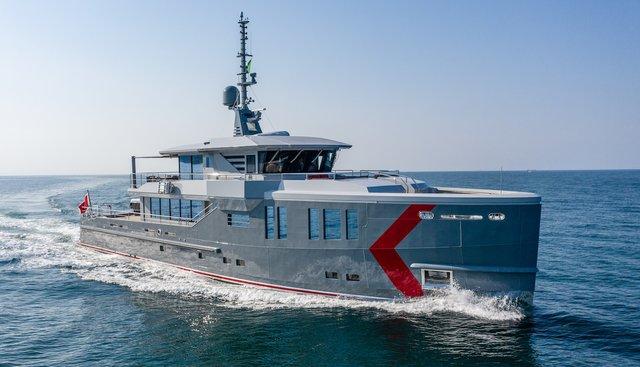 K 584 Charter Yacht