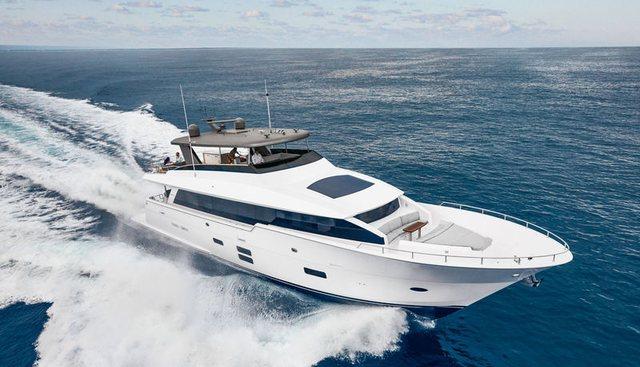 SnowGhost Charter Yacht