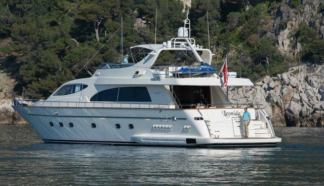 Leonida 2 Charter Yacht