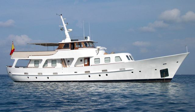 Pacific 85 Charter Yacht