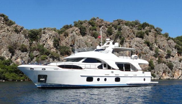 Rebecca V Charter Yacht