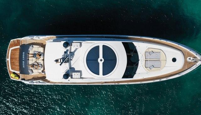 Light Blue Charter Yacht - 4