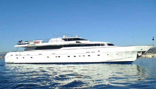 Perseus Star Charter Yacht