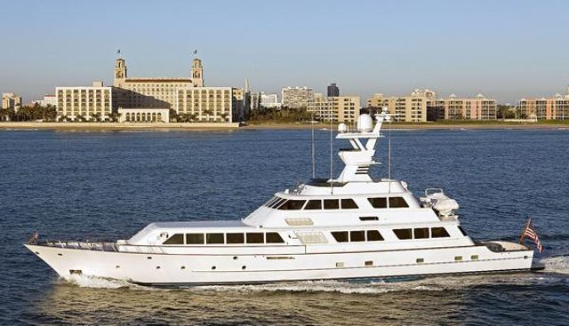 Lady Sandals Charter Yacht