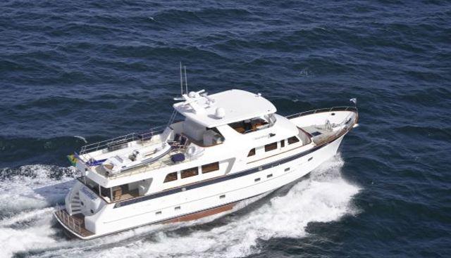 Ginger Charter Yacht