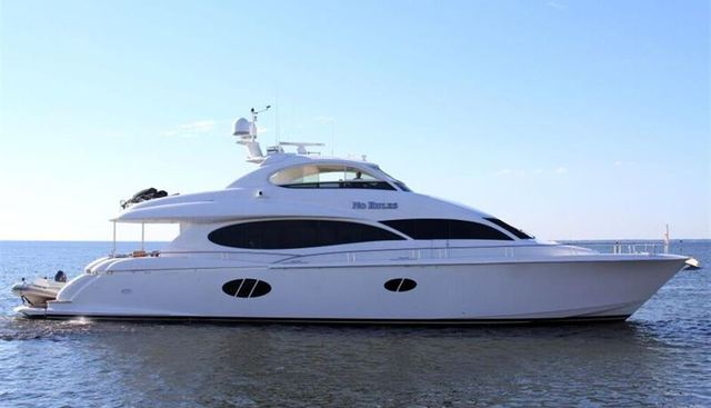 No Rules Charter Yacht