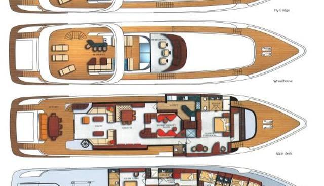 119 35M Raised Pilothouse Vision Charter Yacht - 2