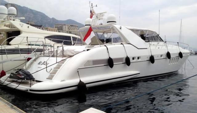 Mr Bizz Charter Yacht