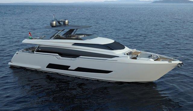 Ferretti 850/02 Charter Yacht