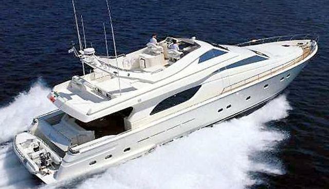 Geepee Charter Yacht