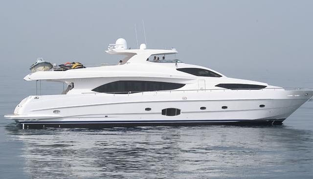 Infinity 7 Charter Yacht