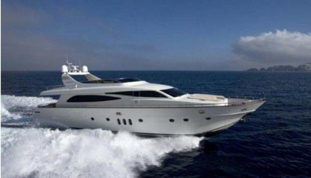 86' Canados 86 2008 Charter Yacht