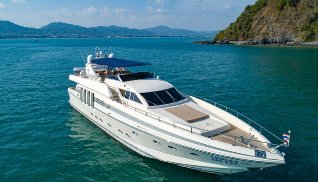 Say Yes Charter Yacht