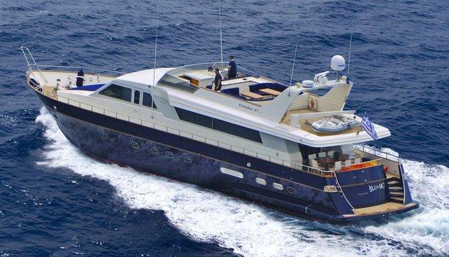 Blu Sky Charter Yacht