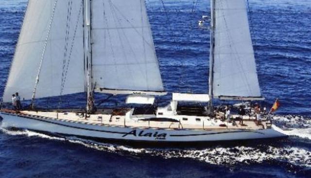 Alaia Charter Yacht