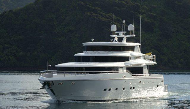 Rhapsody II Charter Yacht