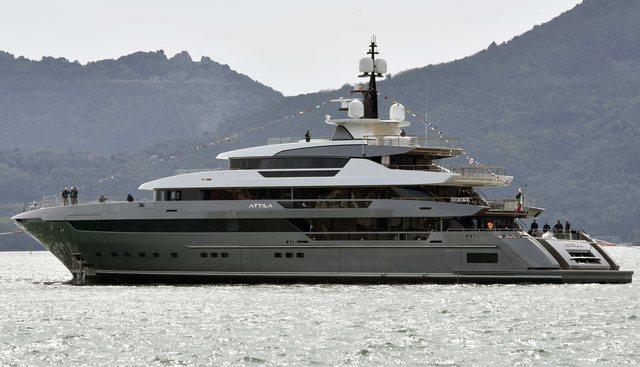 Attila Charter Yacht - 2