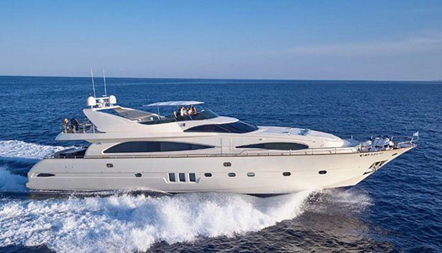 Astondoa Charter Yacht