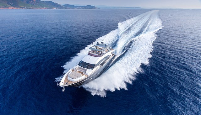 Shades of Grey Charter Yacht
