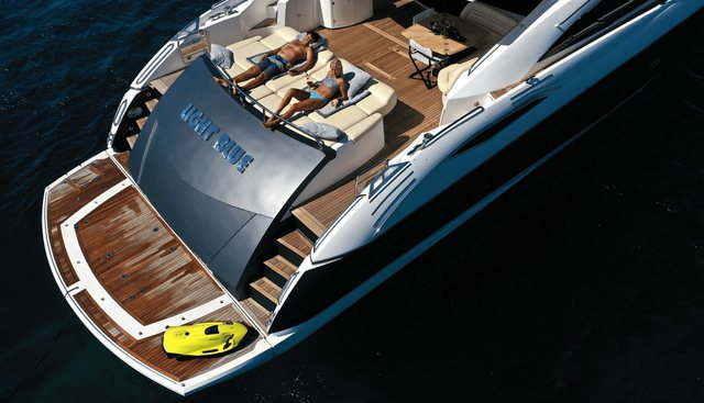 Light Blue Charter Yacht - 3