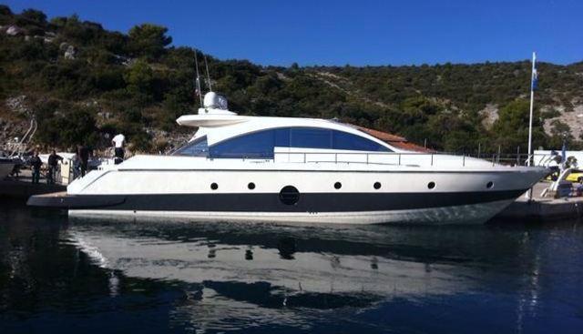 Aicon 72 SL Charter Yacht