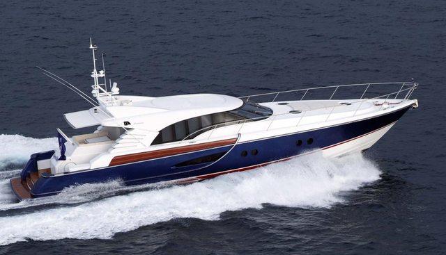 Crystal Blue Charter Yacht